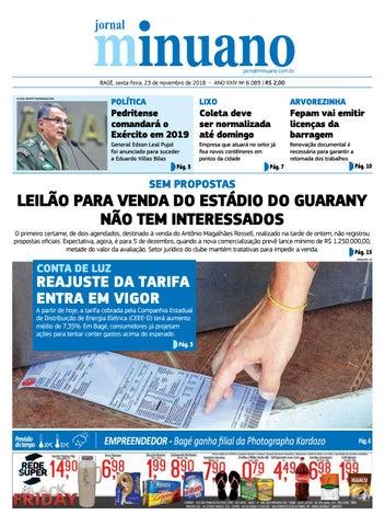 20181123 by Jornal Minuano - issuu 2322cdb7c5b95
