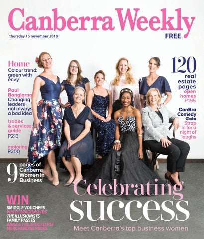 15bcfacfcf 15 November 2018 by Canberra Weekly Magazine - issuu