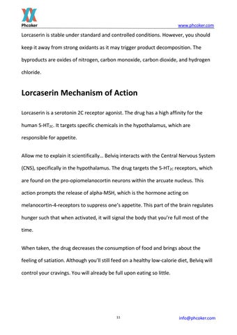 Page 11 of Lorcaserin Mechanism of Action