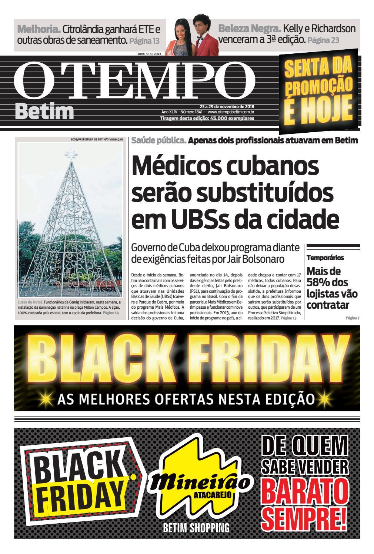 07c3fa4458fbb O Tempo Betim - 23 a 29 de novembro de 2018 by Tecnologia Sempre Editora -  issuu