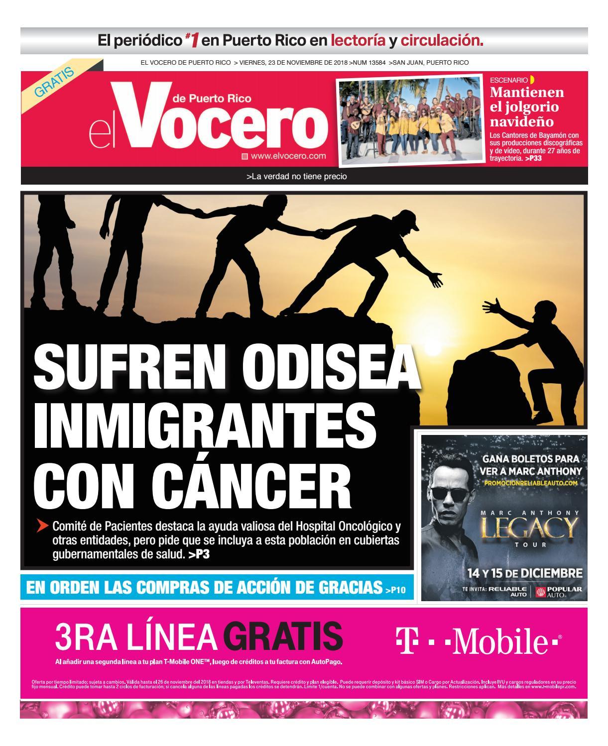 quality design ed306 6dee0 Edición  viernes, 23 de noviembre de 2018 by El Vocero de Puerto Rico -  issuu