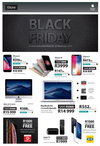 Black Friday Sale Now On By Istore Sa Issuu
