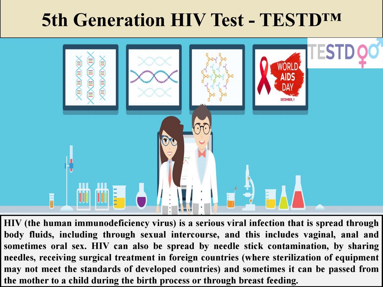 5th Generation HIV Test - TESTD™ by TESTD™ - issuu