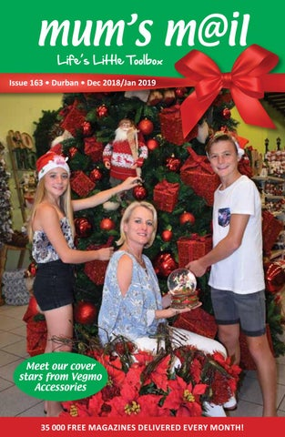 Mail On Christmas Eve 2019.Mum S Mail Durban December 2018 January 2019 By Victoria