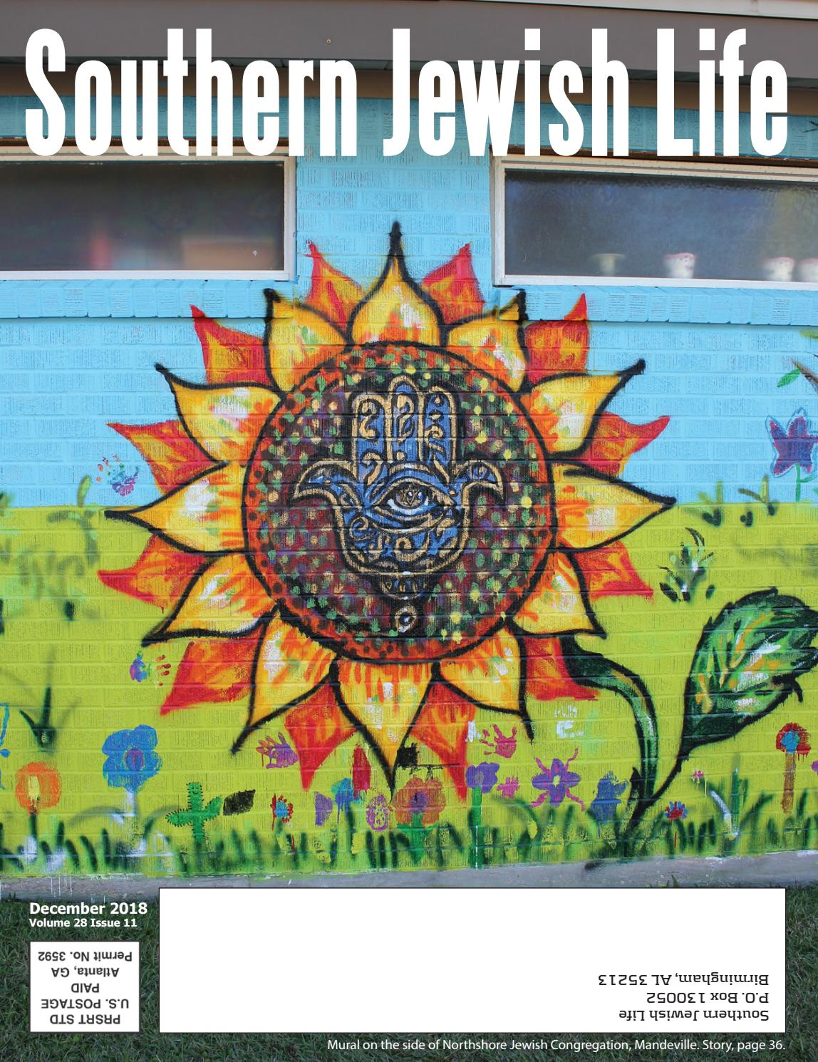 2ffd8def0544 SJL Deep South, December 2018 by Southern Jewish Life - issuu