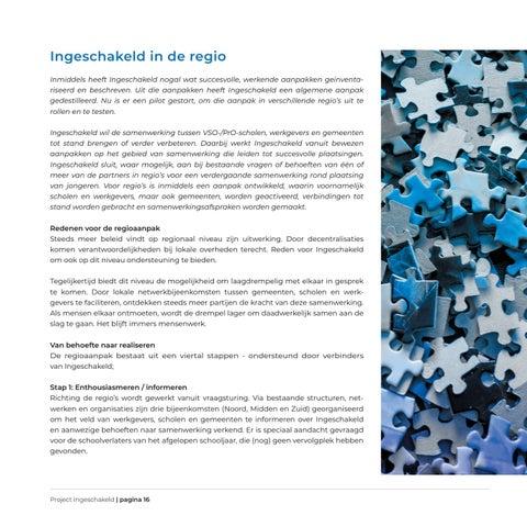 Page 16 of Ingeschakeld in de regio