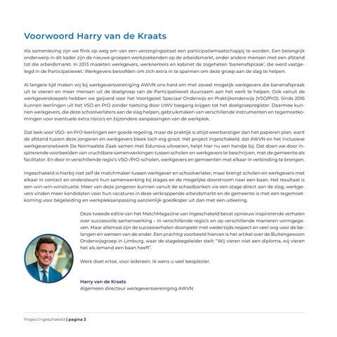 Page 3 of Voorwoord Harry van der Kraats