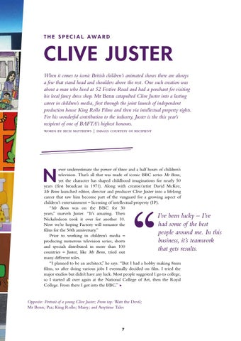 Page 9 of BAFTA Special Award 2018: Clive Juster