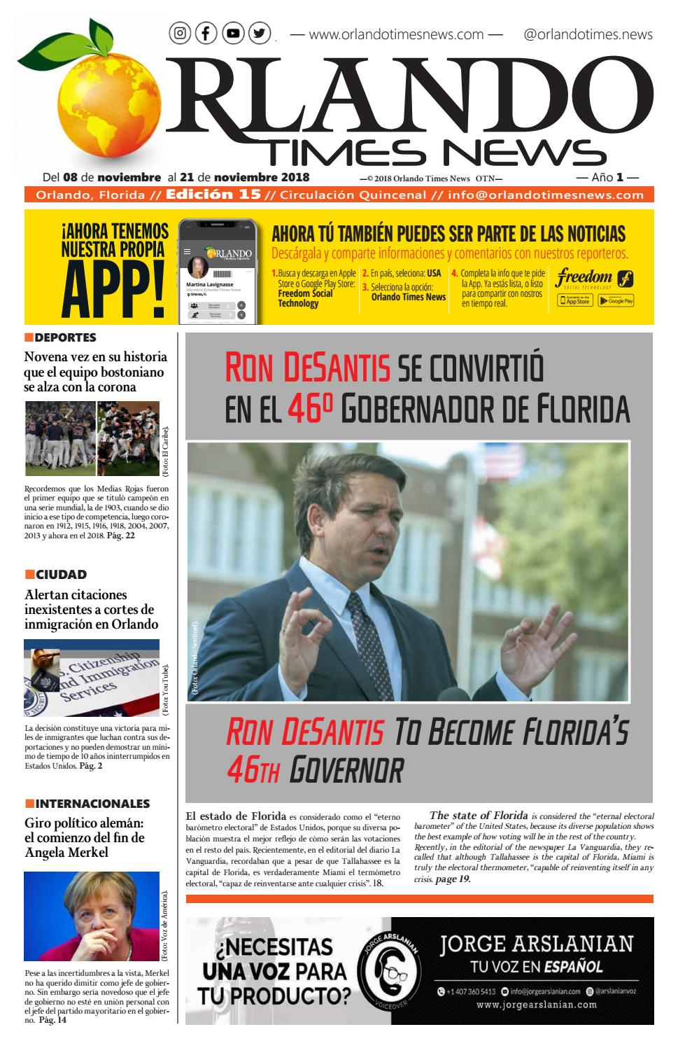 b4750b34d Edición 15 Orlando Times News by orlandotimesnews - issuu