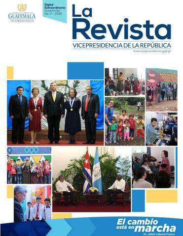 abe22ad522e79 La Revista Vicepresidencia   Digital Extraordinaria No. 2- 2018 by ...