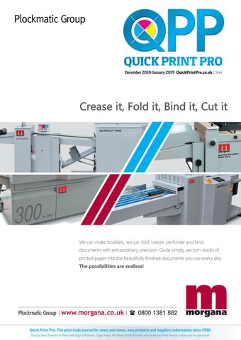 Quick Print Pro, December 2018-January 2019 by The Magazine