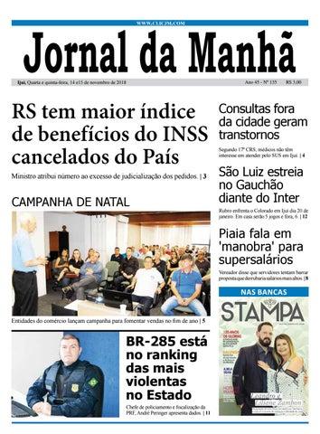076a036cdee6f Jornal da Manhã - Quarta-feira - 14-11-2018 by clicjm - issuu