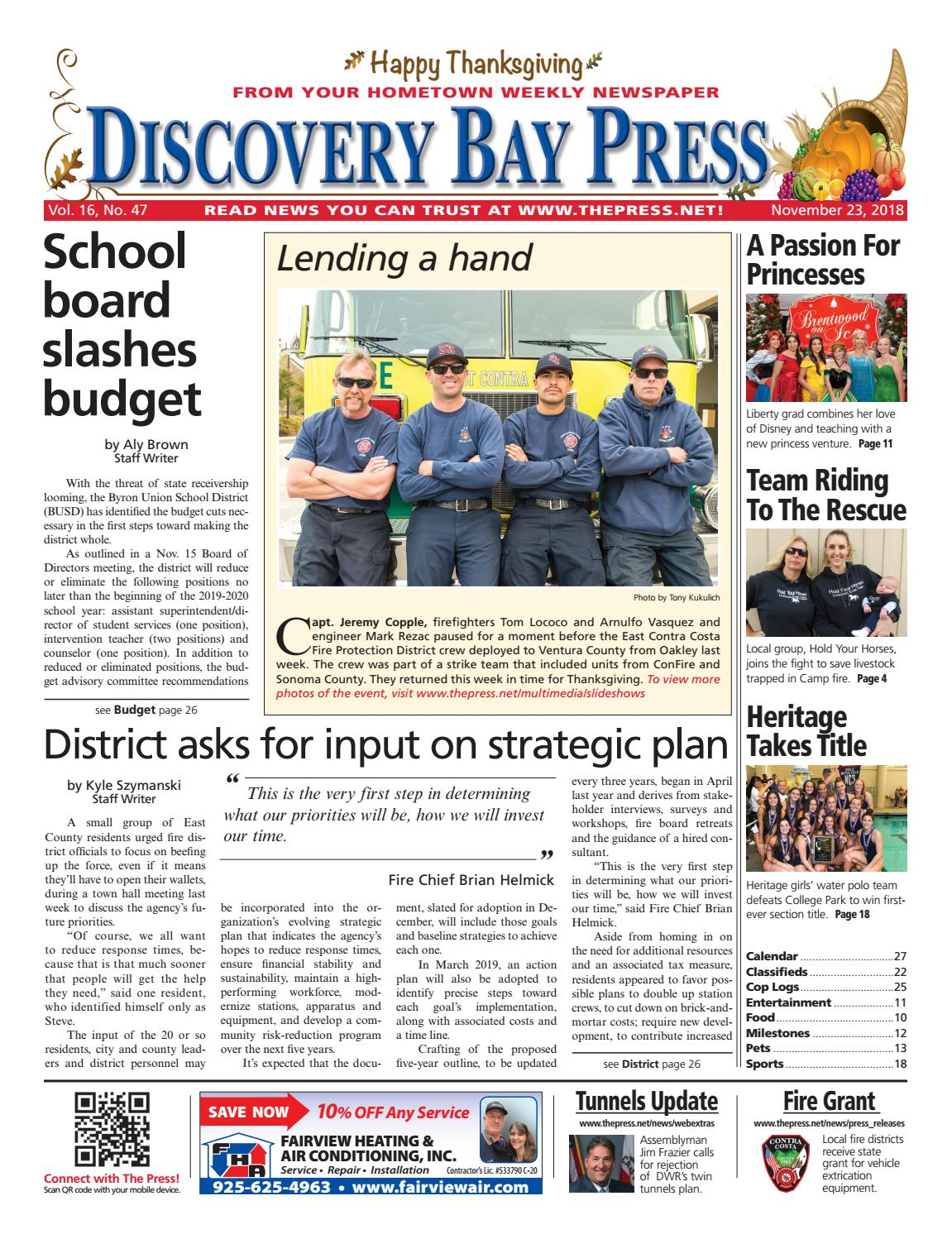 ccdb5454 Discovery Bay Press 11.23.18 by Brentwood Press & Publishing - issuu