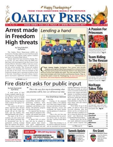 bb2123cc0e7 Oakley Press 11.23.18 by Brentwood Press   Publishing - issuu