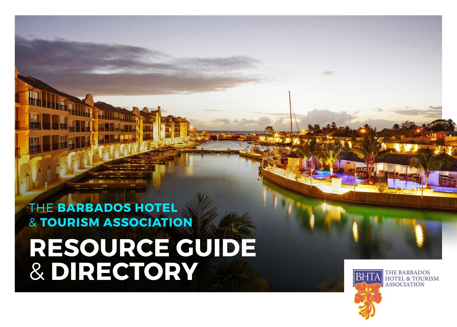BHTA Resource Guide & Directory 2018 by Caribbean Dreams