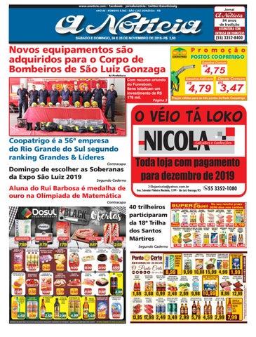 27a9ccbaf Edição de 24 e 25 de novembro de 2018 by Jornal A Notícia - issuu