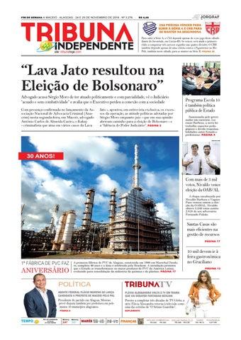Edição número 3276 - 24 e 25 de novembro de 2018 by Tribuna Hoje - issuu 8dec312bca