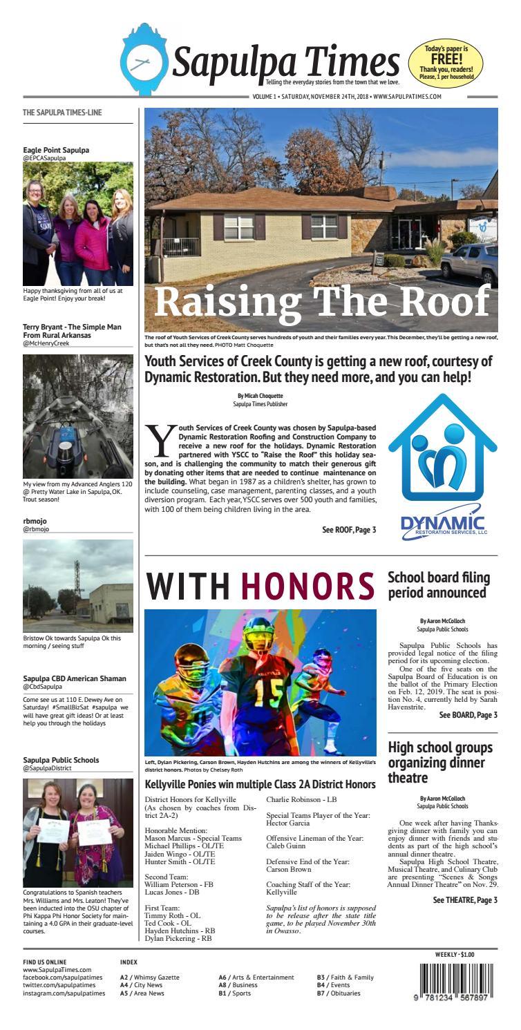 Raising The Roof by sapulpatimes - issuu