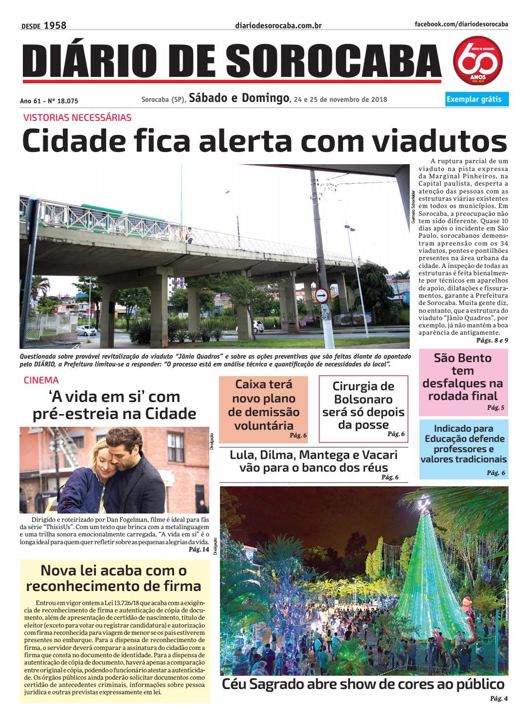 Sábado, 24 de novembro by DIÁRIO DE SOROCABA - issuu fe364137dc
