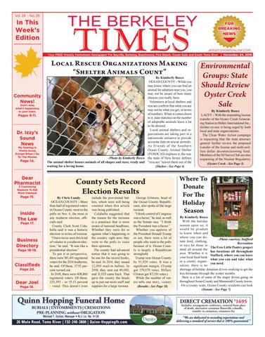 2018-11-24 - The Berkeley Times by Micromedia Publications