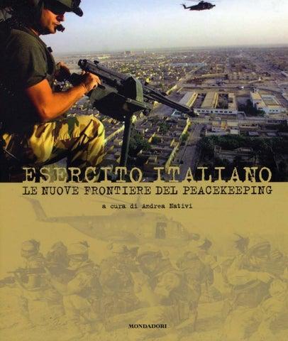 Frontiere Italiano Nuove Le Del Esercito By Biblioteca Peacekeeing 34A5jLR