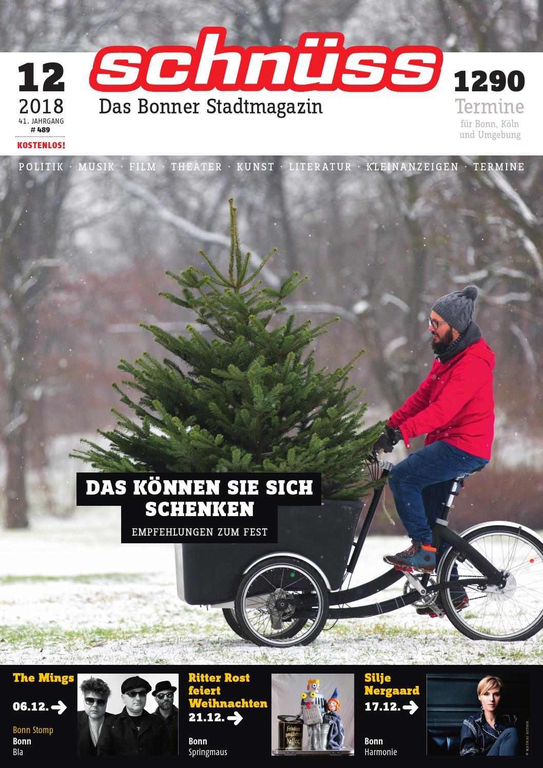 8d1ba51d76cd85 Schnüss 2018 12 by Schnüss - Das Bonner Stadtmagazin - issuu