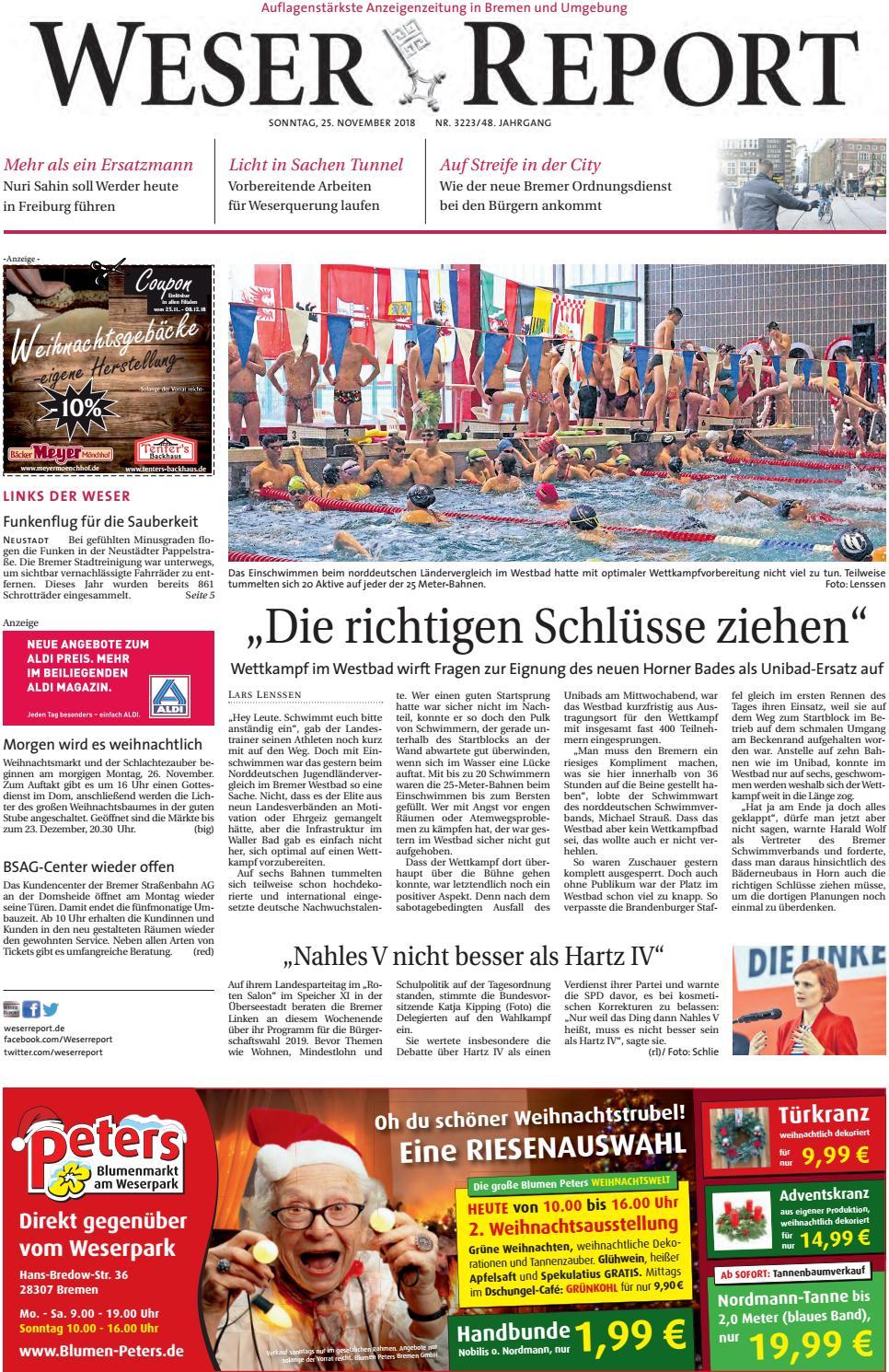 Weser Report - Links der Weser vom 25.11.2018 by KPS ...