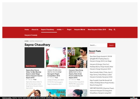 Sapna Dance Video Download 2019 by Pankaj Kumar SEO - issuu