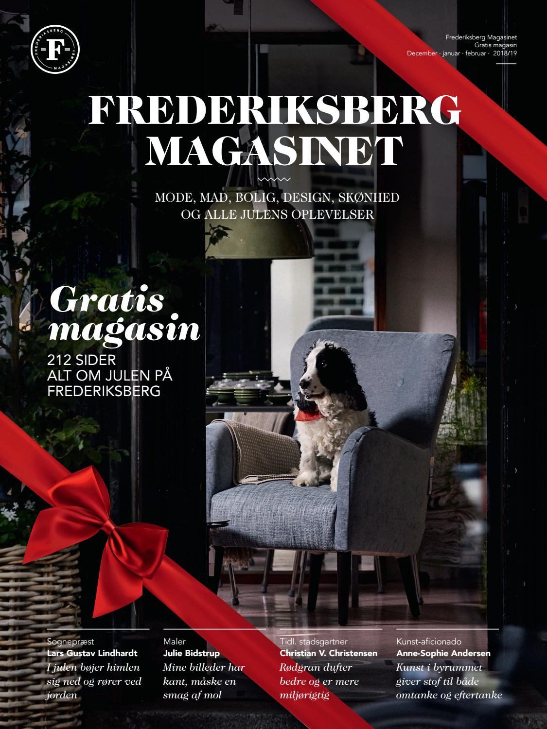 ac7df62dccf3 FREDERIKSBERG MAGASINET Jul 2018 by FREDERIKSBERG MAGASINET - issuu