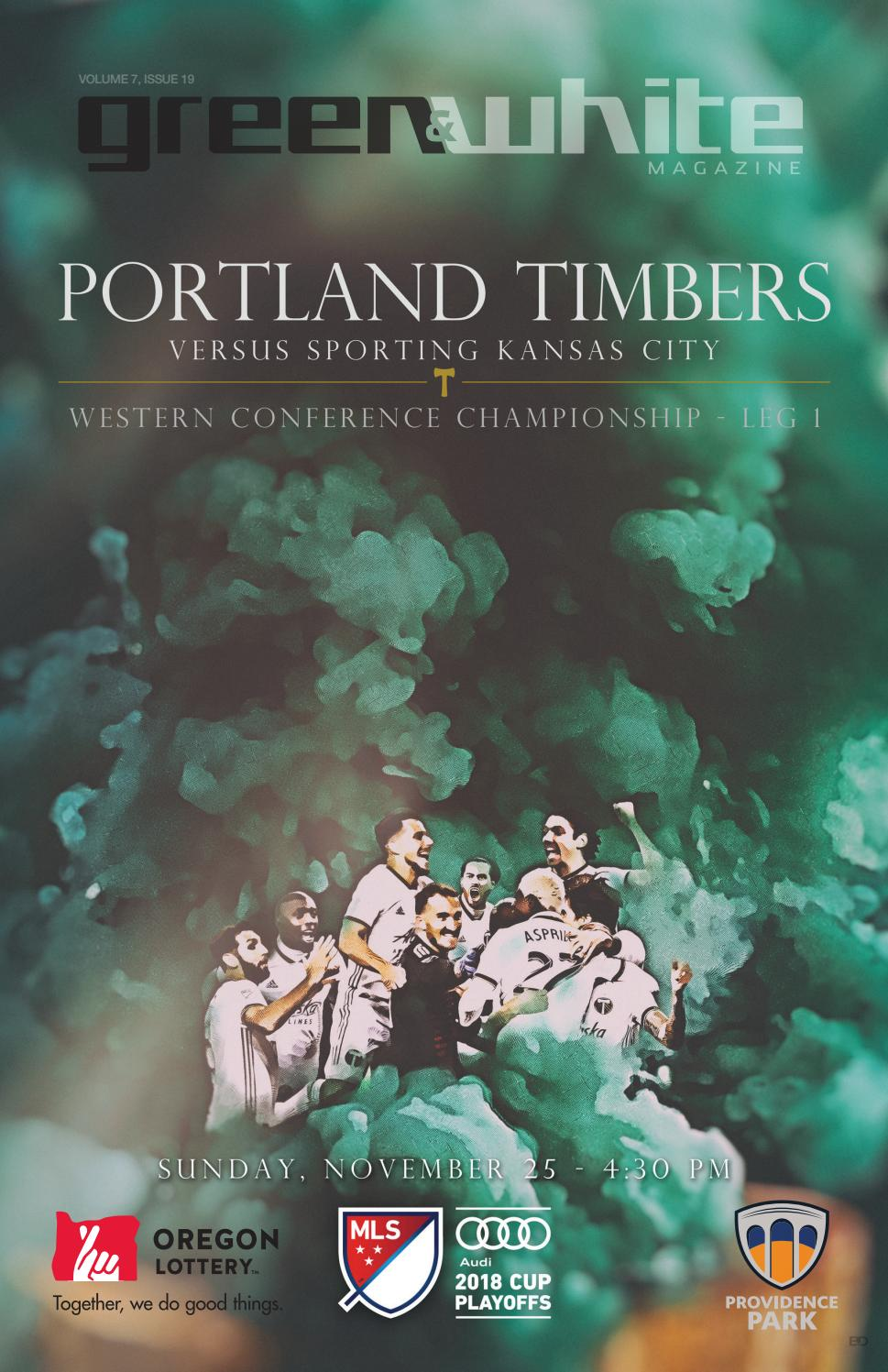 Green & White Magazine   Portland Timbers vs  Sporting Kansas City
