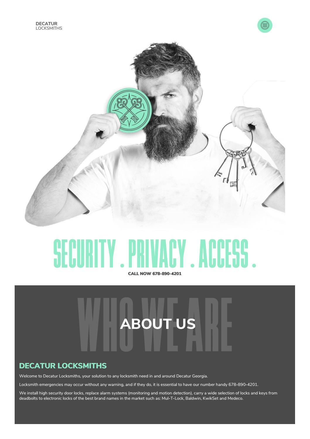 P & G Emergency Locksmith by decaturlocksmiths - issuu