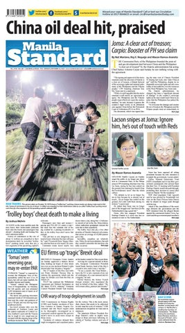 Manila Standard 2018 November 26 Monday By Manila Standard Issuu