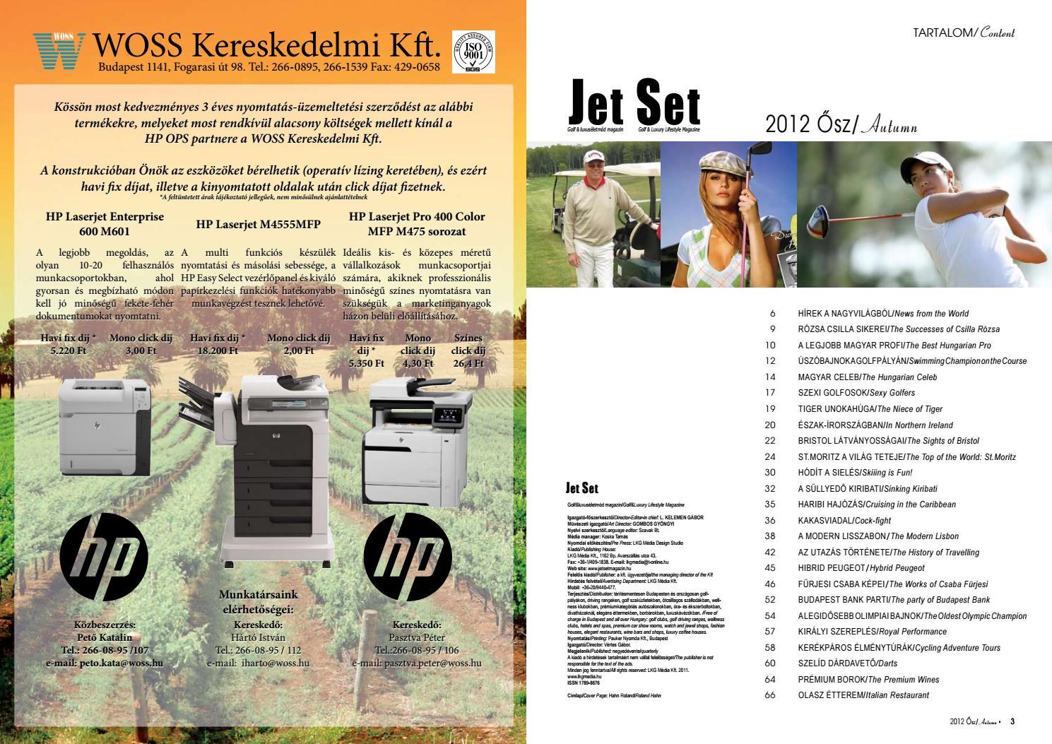 8b53646d1f Jet Set 2012 ősz by LKG Media Kft - issuu