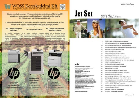 Jet Set 2012 ősz by LKG Media Kft issuu