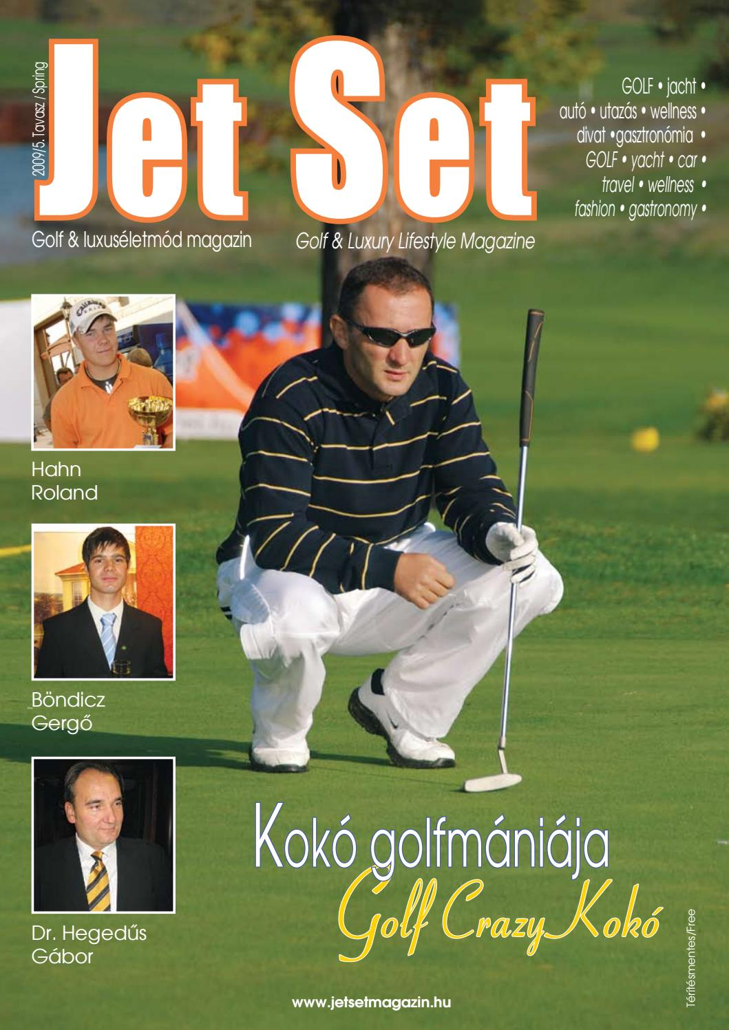 Jet Set 2009 tavasz by LKG Media Kft - issuu 4312d001b7