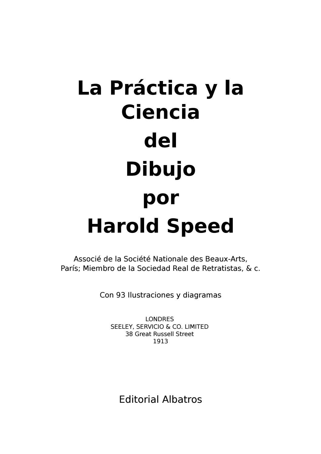 f00ea5731 La Práctica y la Ciencia del Dibujo - Harold Speed - 1913 by César Eduardo  - issuu
