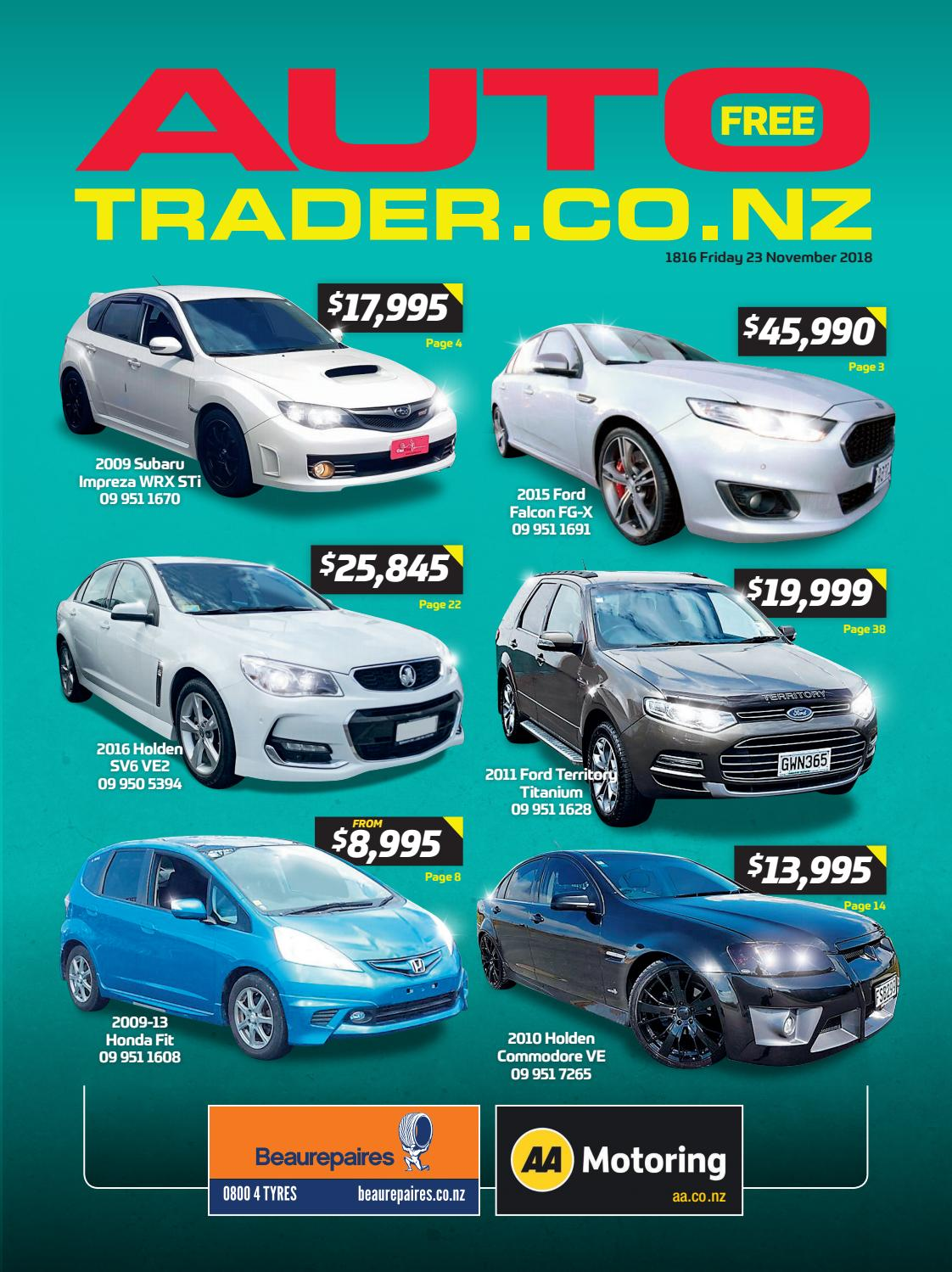e9861b4d63 Autotrader NZ - Issue 1816 by AutotraderNZ - issuu
