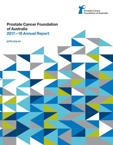 Pcfa Annual Report 2017 2018 By Prostate Cancer Foundation Of
