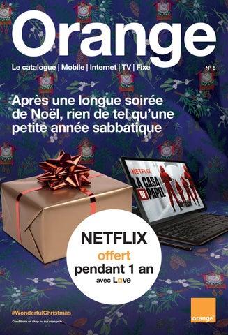 Page 1 of Magazine Orange Luxembourg Novembre 2018