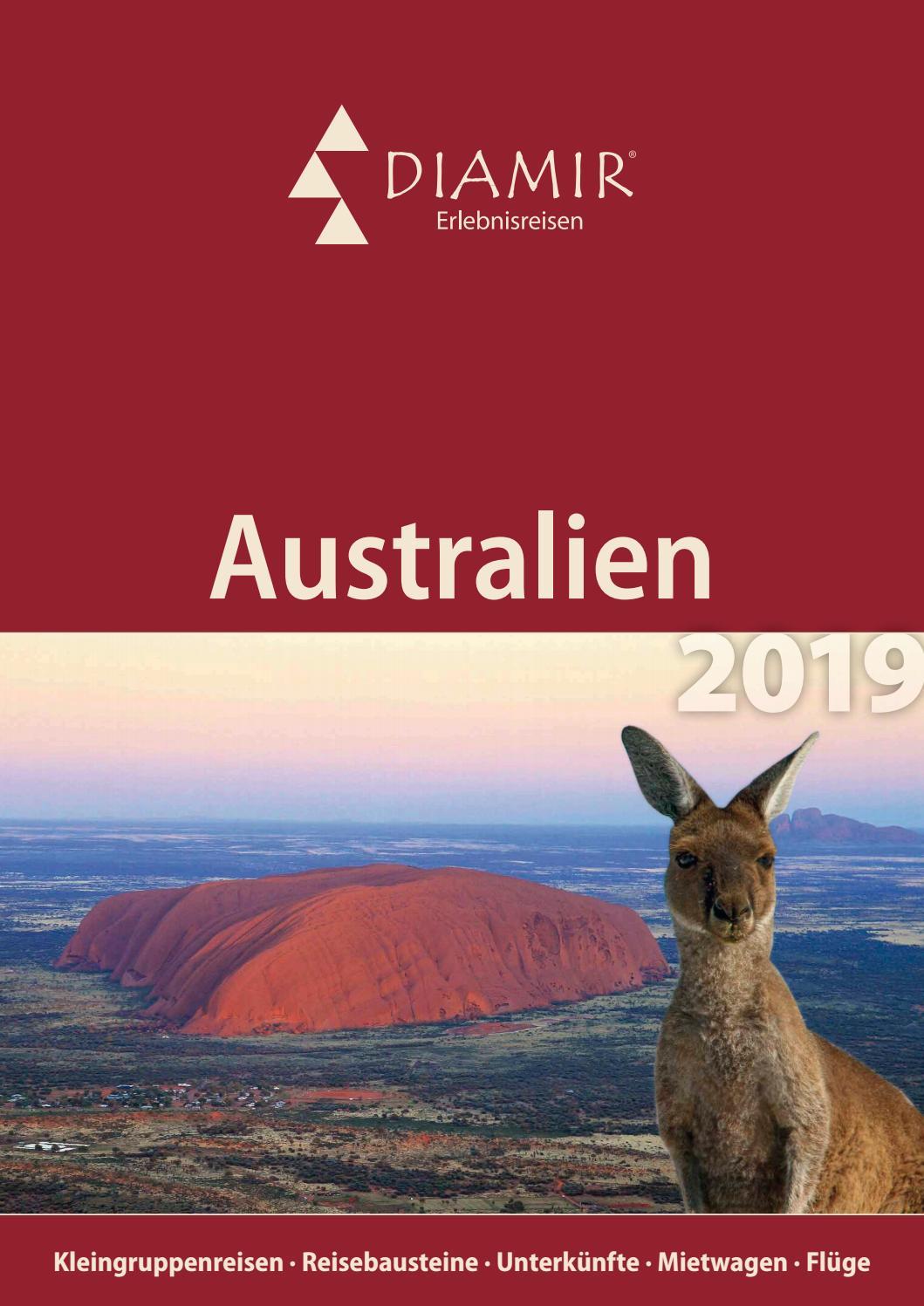 Diamir Ozeanien Australien Reisekatalog 2019 By Diamir