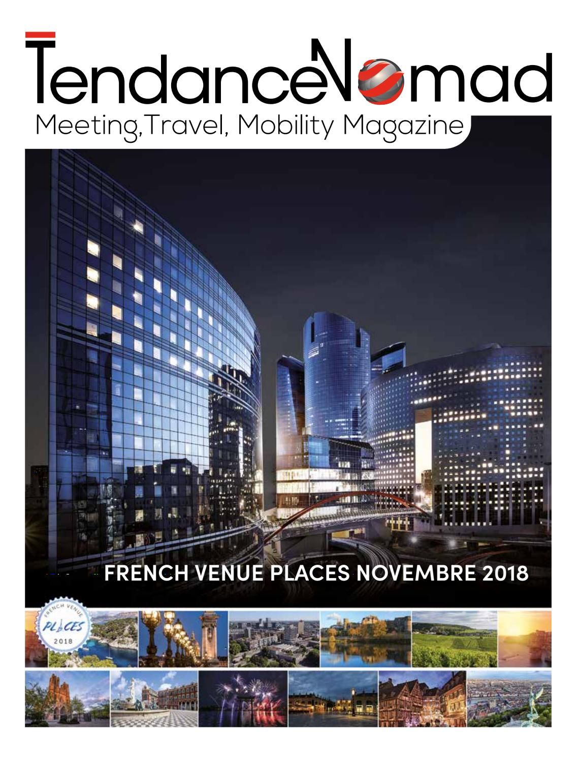 French Venue Places Novembre 2018 By Tendancenomad Publishing Issuu