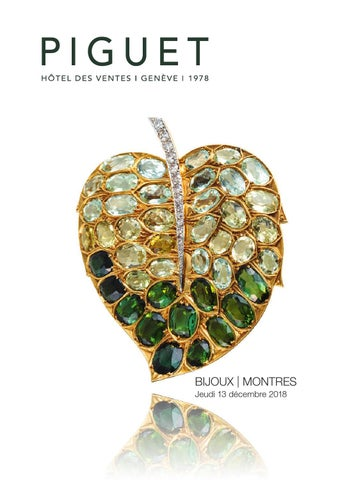 2c32872d277 Piguet Auction House l Geneva l December auction jewellery by Piguet ...