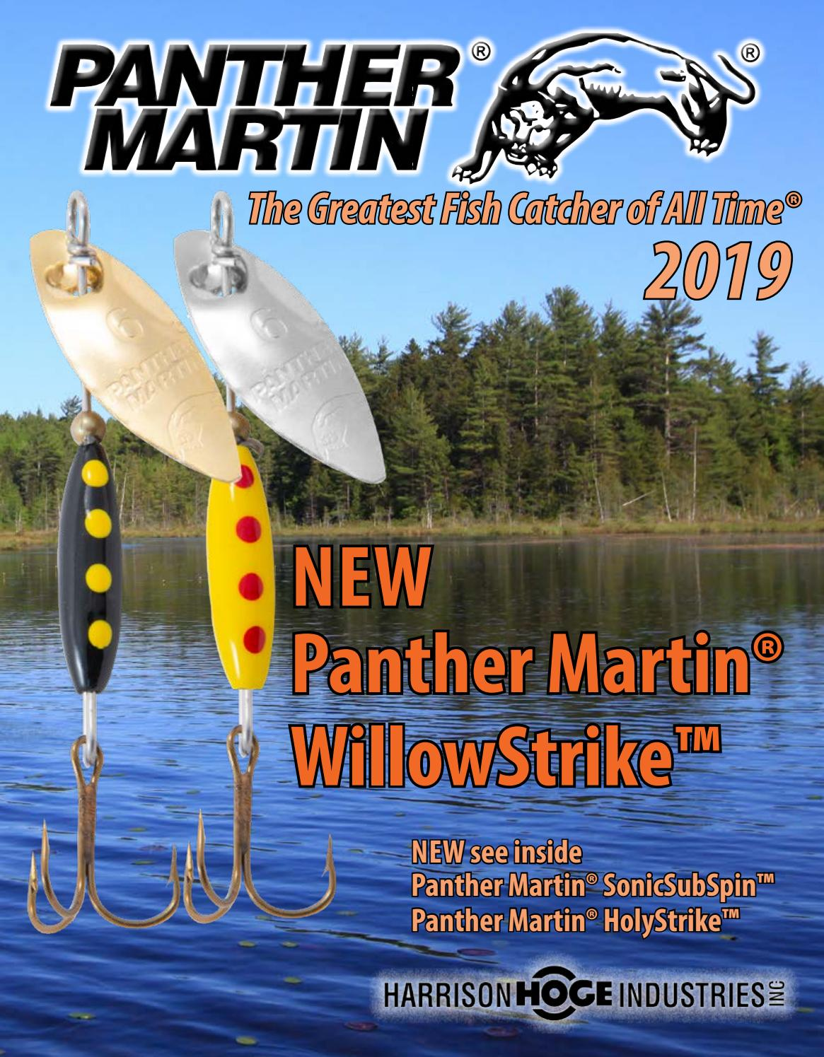 Panther Martin 3//8 oz Genuine Silver Plated Blade Deluxe Spinner Fishing Lure