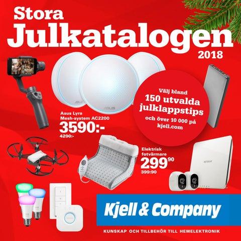 Kjell   Company - Stora Julkatalogen 2018 by Kjell   Company - issuu 24ef54d1a1e63