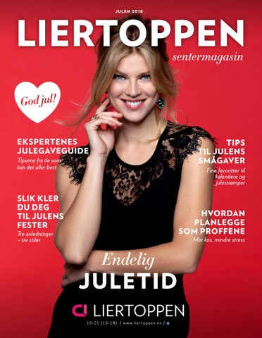39a6b048c Liertoppen julemagasin 2018 by Centerteam - issuu
