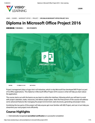 ms office project 2016