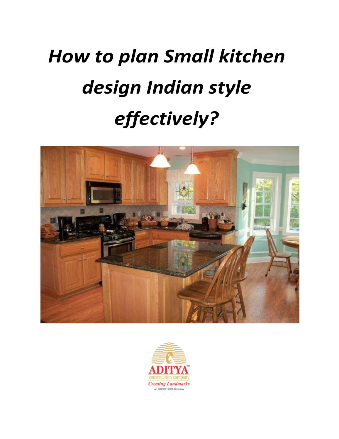Simple Kitchen Design For Small House Kitchen By Aditya Construction Company By Adityacc Issuu