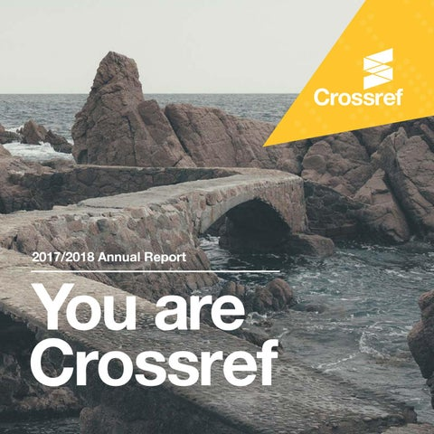 Crossref Annual Report 2017-20...