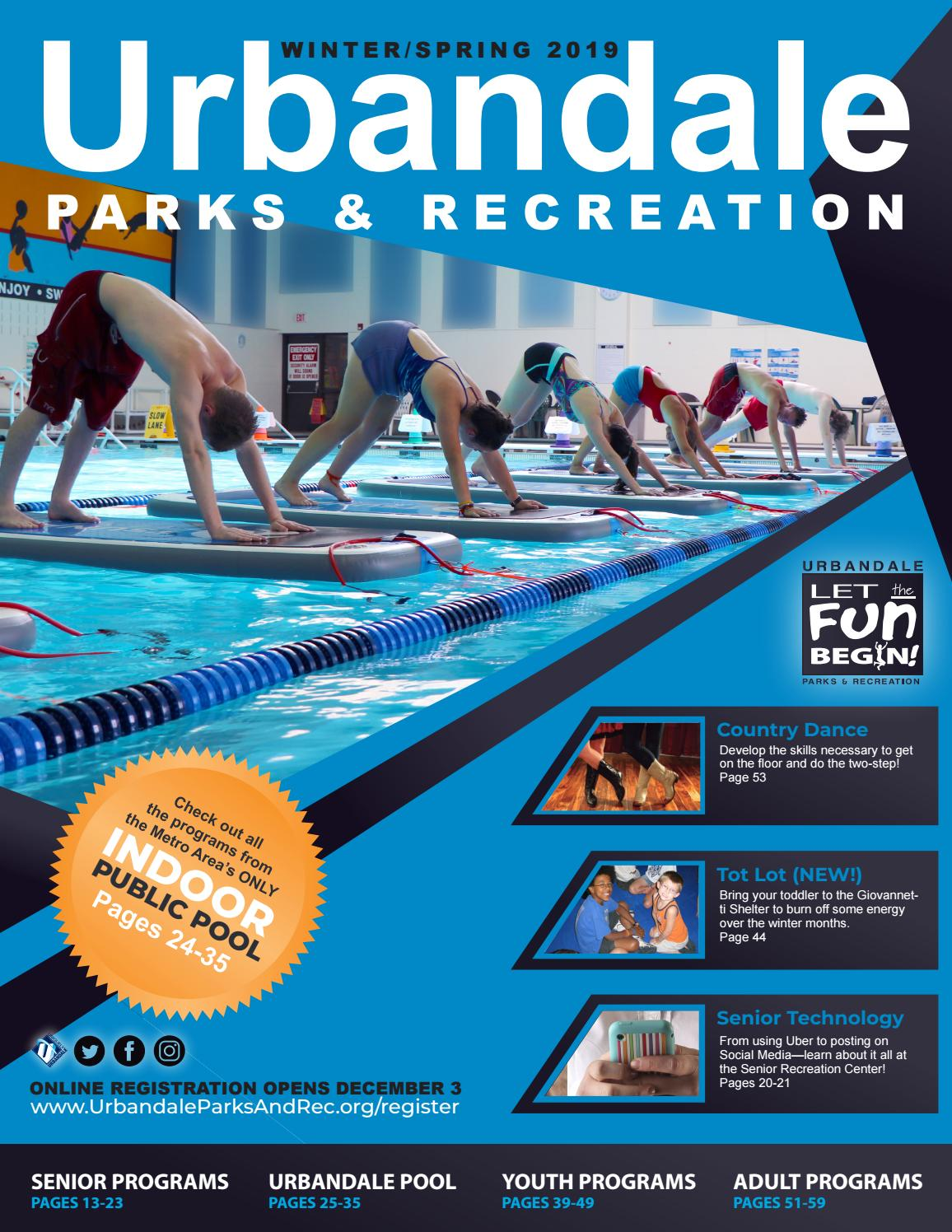 5987e0347e30 2019 Winter Spring Program Guide by Urbandale Parks and Recreation ...