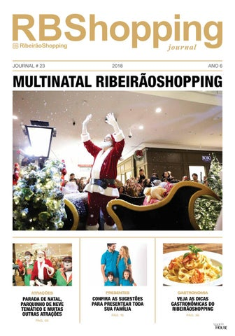 de2967dd3 Journal Natal 2018 RBShopping by AldoLeite House - issuu